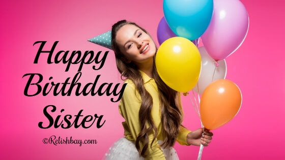 Happy Birthday To A Sister With A Heart Of Gold Wishes